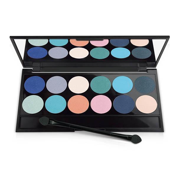Selective Color Palette Eyeshadow – paleta 12 očných tieňov 1
