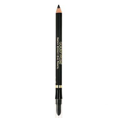 Smoky Effect Eye Pencil - mäkká strúhacia ceruzka na oči s penovým aplikátorom